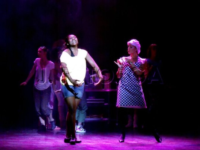 Mabel in Fame the Musical